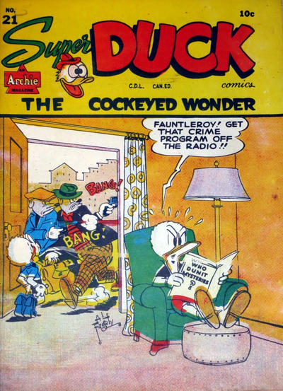 Cover for Super Duck Comics (Bell Features, 1948 series) #21