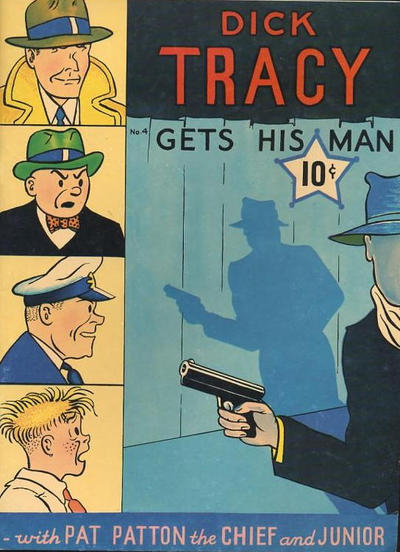 Cover for Dick Tracy Gets His Man (Tony Raiola, 1982 series) #[nn]