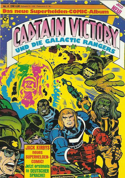 Cover for Captain Victory (Condor, 1983 series) #4