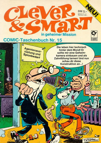 Cover for Clever & Smart (Condor, 1977 series) #15