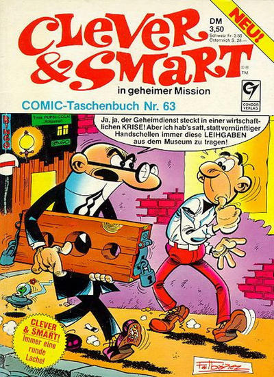 Cover for Clever & Smart (Condor, 1977 series) #63