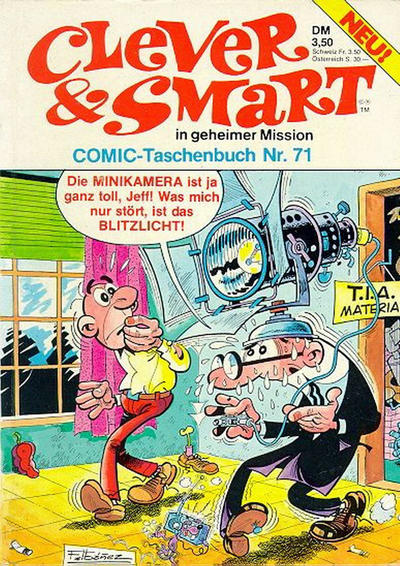 Cover for Clever & Smart (Condor, 1977 series) #71