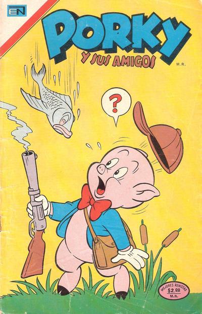 Cover for Porky y sus Amigos (Editorial Novaro, 1951 series) #339