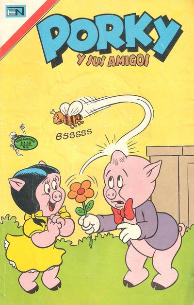 Cover for Porky y sus Amigos Serie Avestruz (Editorial Novaro, 1975 series) #11