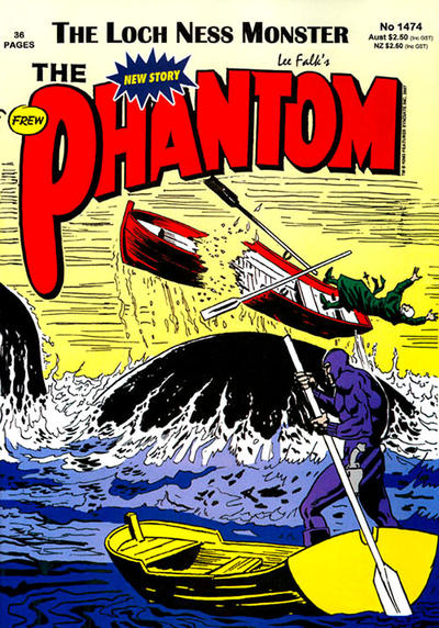 Cover for The Phantom (Frew Publications, 1948 series) #1474