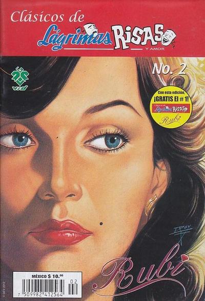 Cover for Clásicos de Lágrimas Risas y Amor.  Rubí (Grupo Editorial Vid, 2012 series) #2