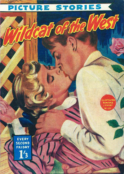 Cover for Illustrated Romance Library (Magazine Management, 1957 ? series) #100