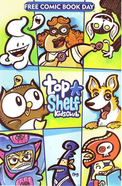 Cover for Top Shelf Kids Club (Top Shelf, 2011 series) #[2012]