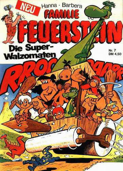 Cover for Familie Feuerstein (Tessloff, 1974 series) #7