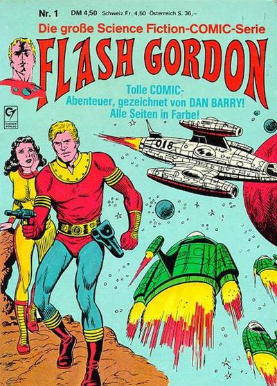 Cover for Flash Gordon (Condor, 1980 series) #1