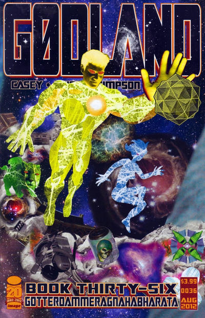Cover for Godland (Image, 2005 series) #36