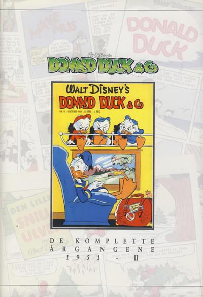 Cover for Donald Duck & Co De komplette årgangene (Hjemmet / Egmont, 1998 series) #[4] - 1951 del 2