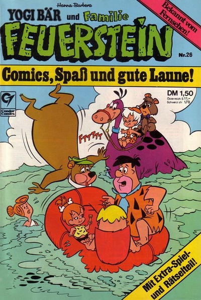 Cover for Familie Feuerstein (Condor, 1978 series) #26