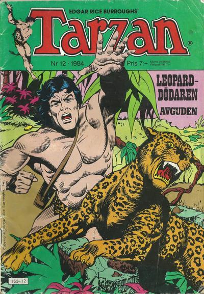 Cover for Tarzan (Atlantic Förlags AB, 1977 series) #12/1984