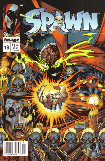 Cover for Spawn (Image, 1992 series) #13 [Direct]