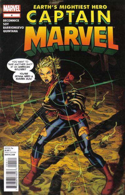 Cover for Captain Marvel (Marvel, 2012 series) #4