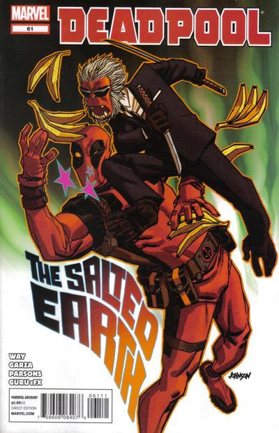 Cover for Deadpool (Marvel, 2008 series) #61