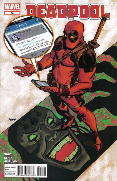 Cover for Deadpool (Marvel, 2008 series) #60