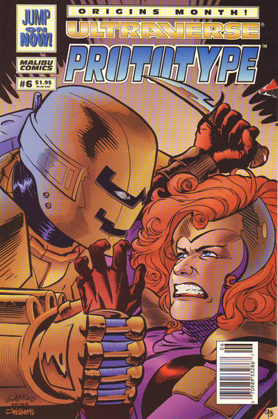 Cover for Prototype (Malibu, 1993 series) #6 [Direct]