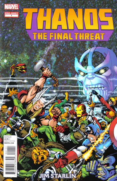 Cover for Thanos: The Final Threat (Marvel, 2012 series) #1