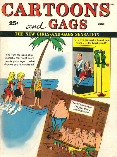 Cover for Cartoons and Gags (Marvel, 1959 series) #v6#3