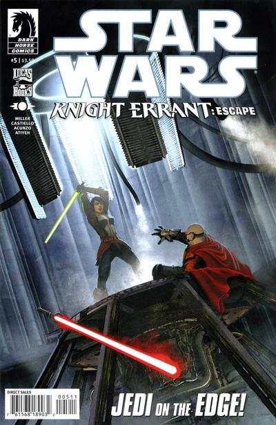 Cover for Star Wars: Knight Errant - Escape (Dark Horse, 2012 series) #5