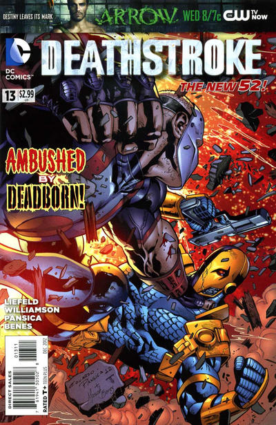 Cover for Deathstroke (DC, 2011 series) #13