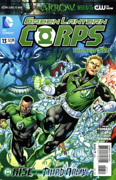 Cover for Green Lantern Corps (DC, 2011 series) #13