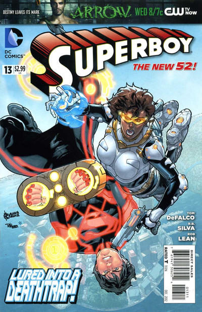 Cover for Superboy (DC, 2011 series) #13