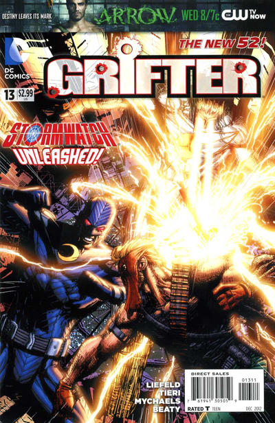 Cover for Grifter (DC, 2011 series) #13