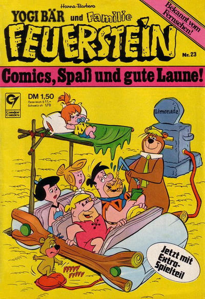 Cover for Familie Feuerstein (Condor, 1978 series) #23