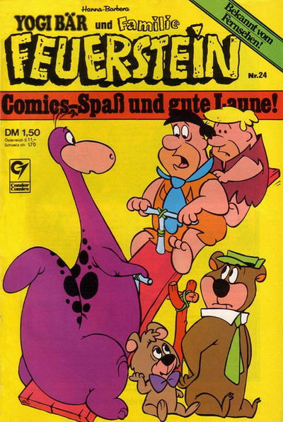 Cover for Familie Feuerstein (Condor, 1978 series) #24