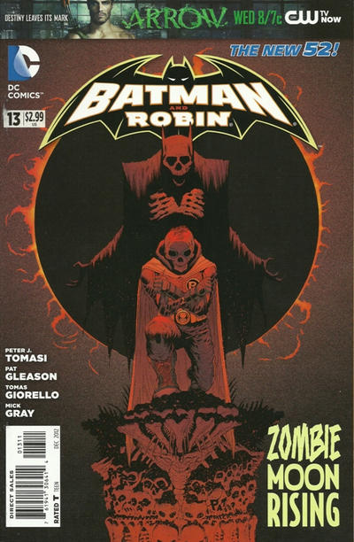 Cover for Batman and Robin (DC, 2011 series) #13