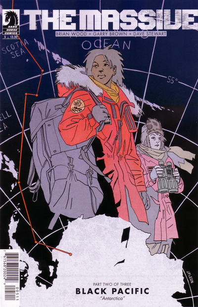 Cover for The Massive (Dark Horse, 2012 series) #5