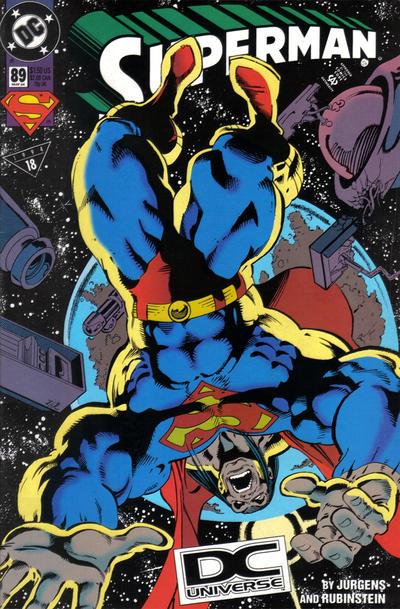 Cover for Superman (DC, 1987 series) #89 [DC Universe Corner Box]