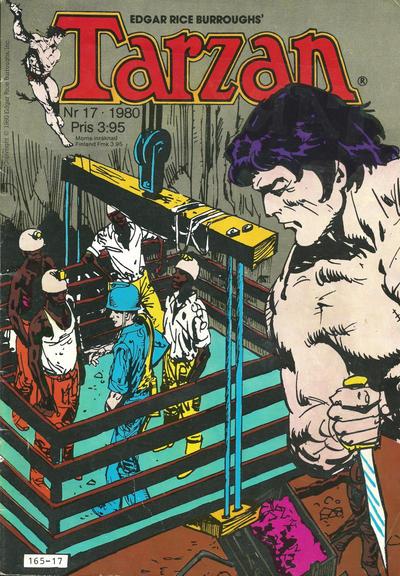 Cover for Tarzan (Atlantic Förlags AB, 1977 series) #17/1980