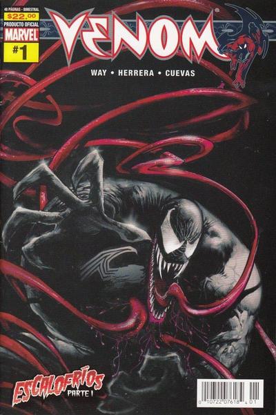 Cover for Venom (Editorial Televisa, 2006 series) #1