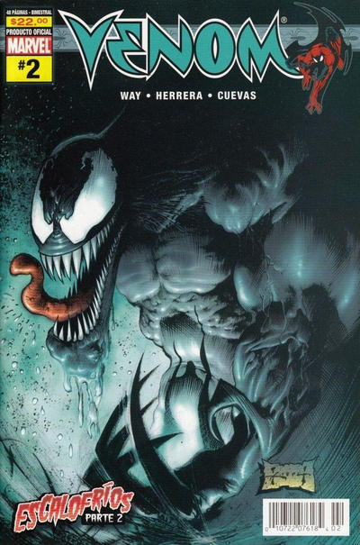 Cover for Venom (Editorial Televisa, 2006 series) #2