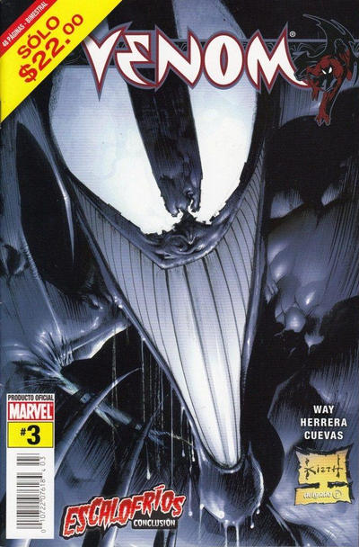 Cover for Venom (Editorial Televisa, 2006 series) #3