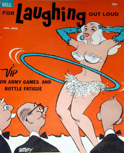Cover for For Laughing Out Loud (Dell, 1956 series) #10