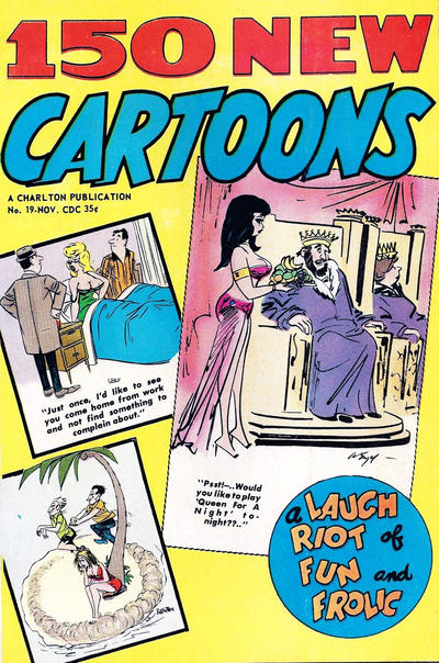 Cover for 150 New Cartoons (Charlton, 1962 series) #19