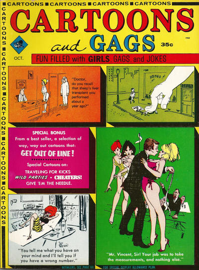 Cover for Cartoons and Gags (Marvel, 1959 series) #v11#5