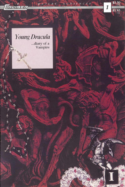 Cover for Young Dracula: Diary of a Vampire (Caliber Press, 1993 series) #1