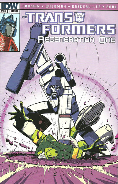 Cover for Transformers: Regeneration One (IDW, 2012 series) #84 [Cover B - Guido Guidi]