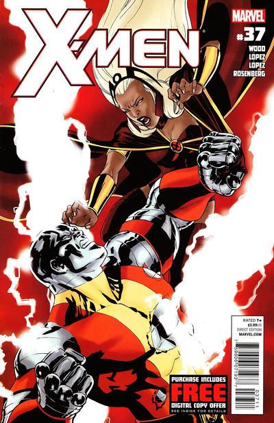 Cover for X-Men (Marvel, 2010 series) #37