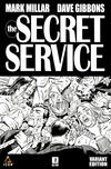 Cover for The Secret Service (Marvel, 2012 series) #2 [Black and White Variant]