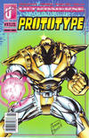 Cover for Prototype (Malibu, 1993 series) #1 [Newsstand]