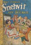 Cover for Walt Disney's serier (Hjemmet / Egmont, 1950 series) #[1/1951]