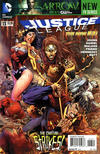 Cover Thumbnail for Justice League (2011 series) #13 [Tony Daniel Cover]