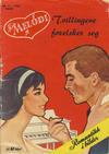 Cover for Min Melodi (Serieforlaget / Se-Bladene / Stabenfeldt, 1957 series) #11/1960
